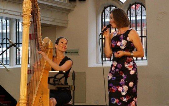 Zang Harp duo Marieke & Colet