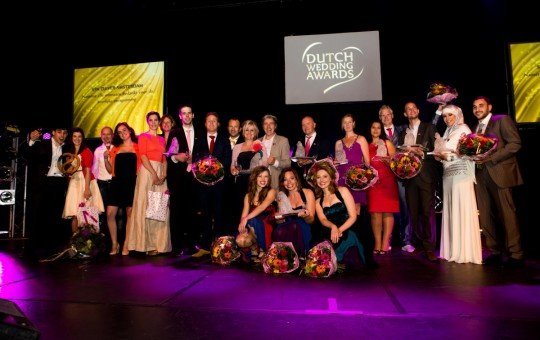 Winnaars van Dutch Wedding Awards 2012